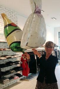 Folienballons zum Jubiläum